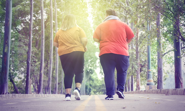 Surgical Weight Loss Patients Walking