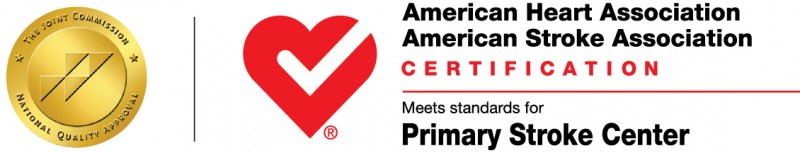 American Heart Association / American Stroke Association Certification, meets standards fro Primary Stroke Center