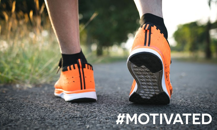 Motivated Start Walking