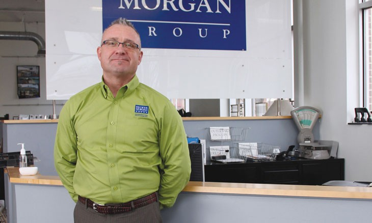 Gregg Moore, P.E., leader in Becker Morgan Group
