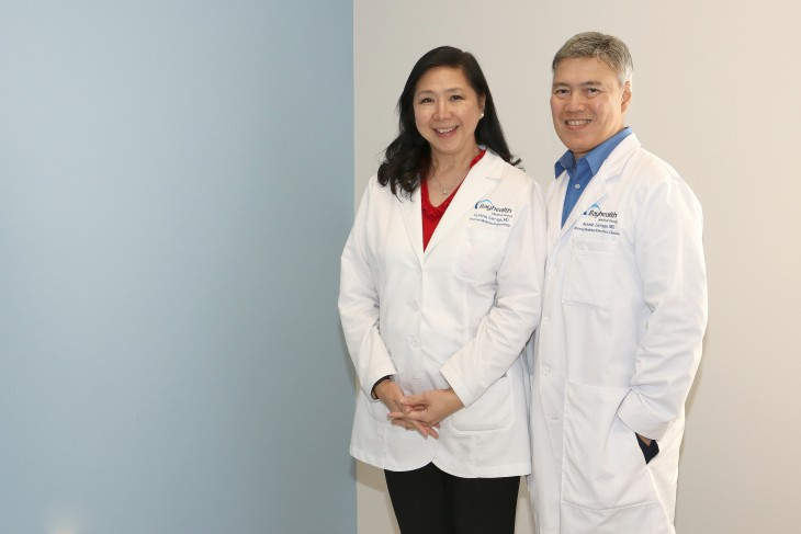 Antonio Zarraga, MD, and Cynthia Zarraga, MD