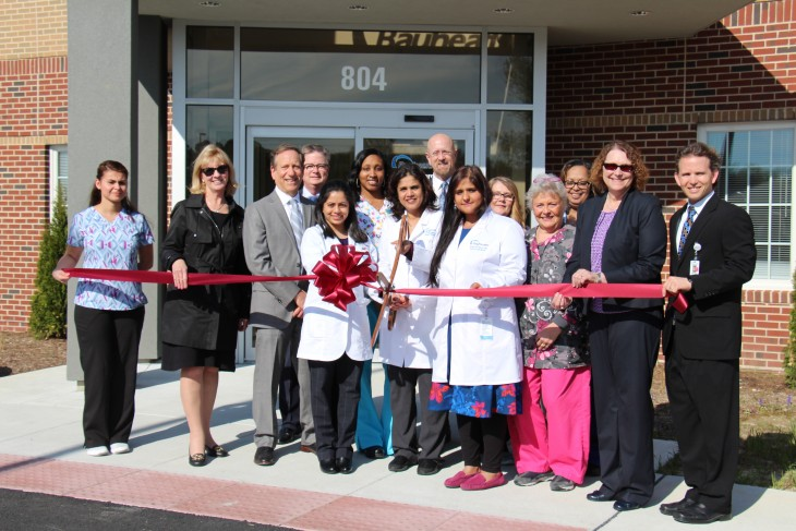 Quinn Medical Offices ribbon cutting ceremony