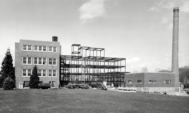 Milford Memorial Hospital under construction