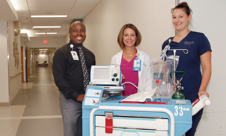 Bayhealth Foundation purchases new defibrillators
