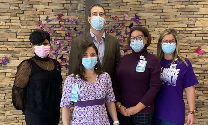 Bayhealth Goes Purple for Substance Use Awareness