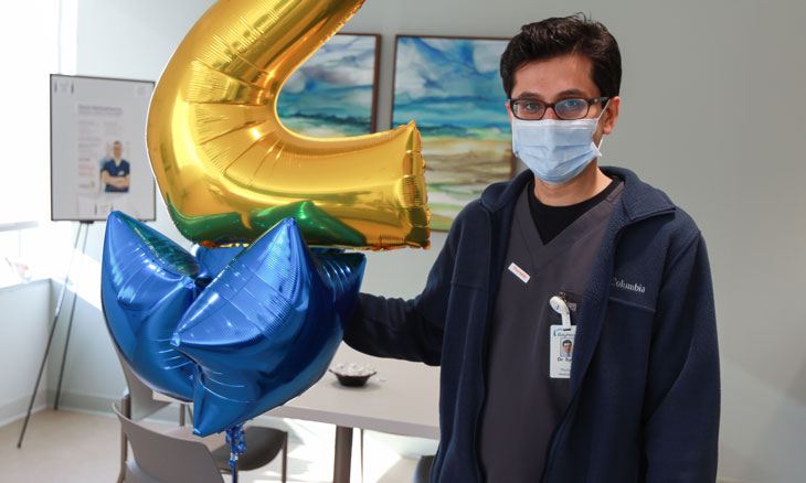 Hospitalist Remembers First Days at Sussex Campus